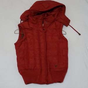 red american eagle vest
